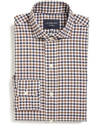 Ledbury Grove Classic Fit Gingham Dress Shirt