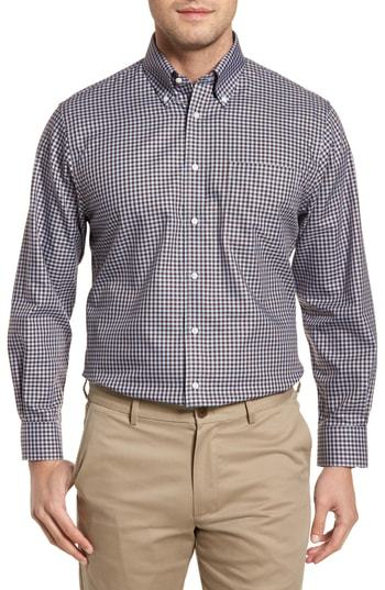 89bc915186f7f Nordstrom Men s Shop Traditional Fit Non Iron Gingham Dress Shirt ...