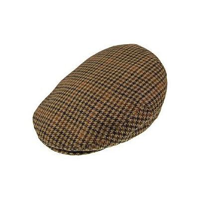 ... Bailey Hats Lord Tweed Flat Cap Brown ee1191a9eb3