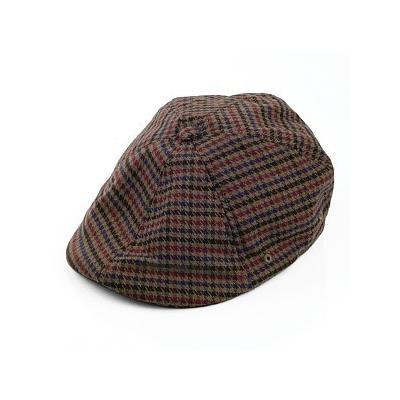 Kangol Hats 504 Plaid Flat Cap Olive 6b2ffcff14f