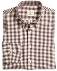 Brooks brothers gingham sport shirt medium 99427