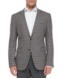 Boss mini check sport coat medium 135976
