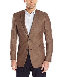 Tommy Hilfiger Brown Mini Check Sport Coat