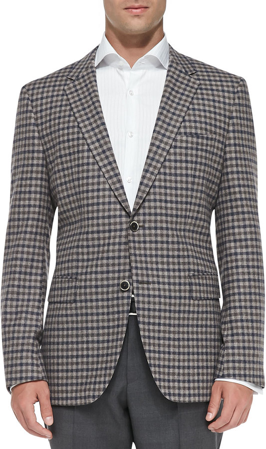 Hugo Boss Boss Mini Check Sport Coat | Where to buy & how to wear