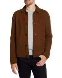 Brown Harrington Jacket