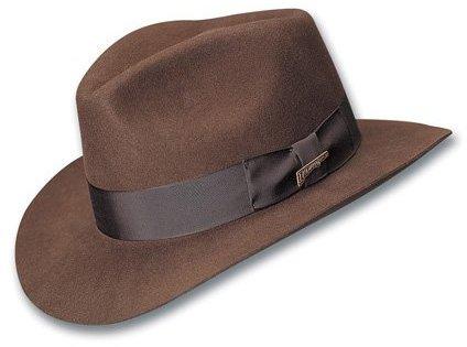 ... Dorfman Pacific Indiana Jones Fur Felt Fedora 9c323683bb7