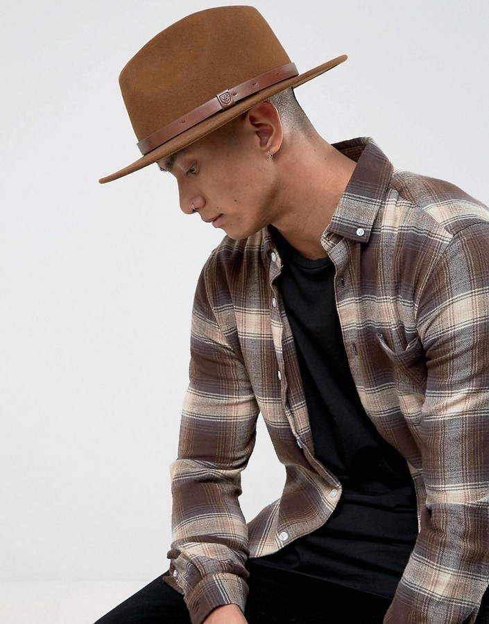 3bc7ef3373e03 best price brixton. brixton mens homestead fedora hat a0491 913b2; best  price brixton messer fedora hat f9415 af054
