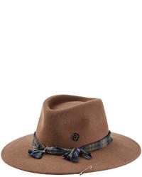 Maison Michel Rabbit Felt Hat