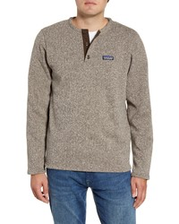 Brown Henley Sweater