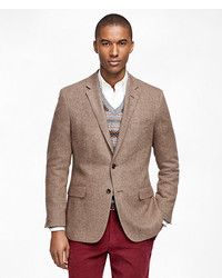 Brooks Brothers Fitzgerald Fit Herringbone Sport Coat