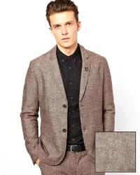 Farah Vintage Blazer In Tweed
