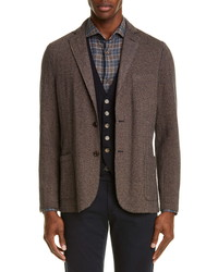 Eleventy Slim Fit Blend Sport Coat