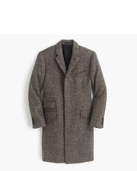 J.Crew Ludlow Topcoat In Irish Herringbone Tweed