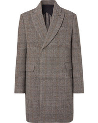 Stella McCartney Oversized Herringbone Wool Tweed Overcoat