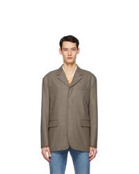 Andersson Bell Beige Wool Driden Jacket