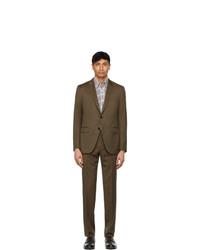 Ermenegildo Zegna Brown Solaro Suit