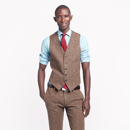 Ludlow Suit Vest In English Tweed | Where to buy & how to wear