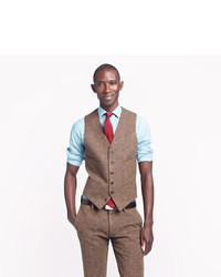 Ludlow Suit Vest In English Tweed