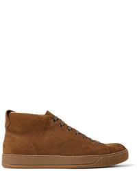 Nubuck high top sneakers medium 3772161