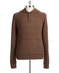 Black Brown 1826 Hooded Sweater