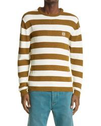 Loewe Stripe Anagram Ed Sweater