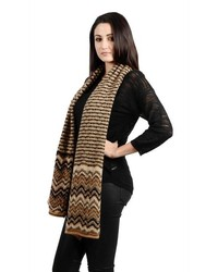 Combination multi zigzag and straight stripe scarf medium 230489