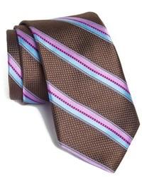 Ted Baker London Stripe Woven Silk Tie