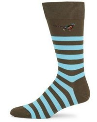 Barbour Macrath Striped Socks