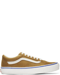 Vans Brown Suede Og Old Skool Lx Sneakers