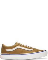 Vans Brown Suede Og Old Skool Lx Sneakers