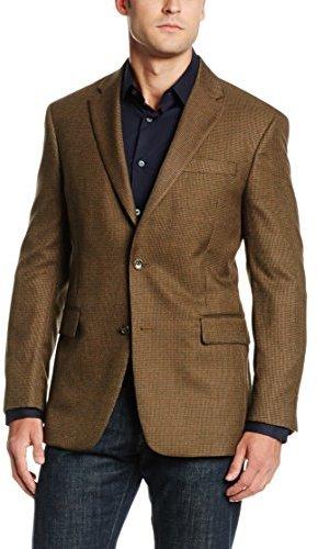 0f58c4cc7a8 ... Jones New York Brown Houndstooth Sport Coat