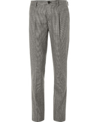 Brown Houndstooth Dress Pants