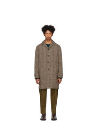 Officine Generale Brown Wool Stephane Coat