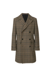 The Gigi Houndstooth Pattern Coat