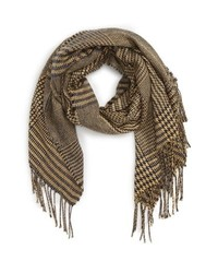 BP. Mixed Houndstooth Scarf