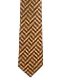 Tom Ford Jacquard Houndstooth Tie