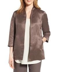 Eileen Fisher Organic Linen Silk Jacket