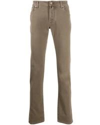 Jacob Cohen Pocket Square Straight Leg Jeans