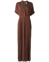 Max Mara V Neck Jumpsuit