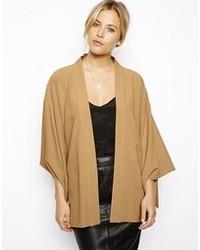Asos Soft Kimono Jacket With Extreme Sleeves
