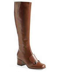 Brown knee high boots original 1549005