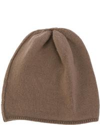 Brown Knit Beanie