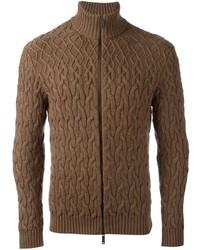 Cable knit cardigan medium 835619