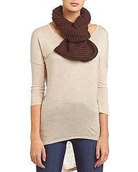 Dillards Ribbed Knit Infinity Scarf