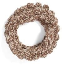 Textured knit cowl scarf medium 1102218