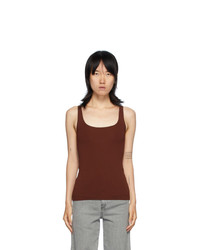 Totême Brown Urda Tank Top
