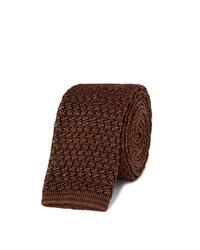 Rubinacci Knitted Silk Tie