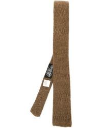 Vintage knitted tie medium 329298
