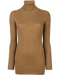 Prada Fitted Turtleneck Sweater