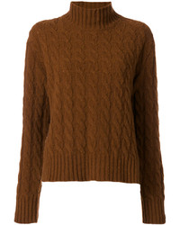 Turtleneck cable knit jumper medium 4424212